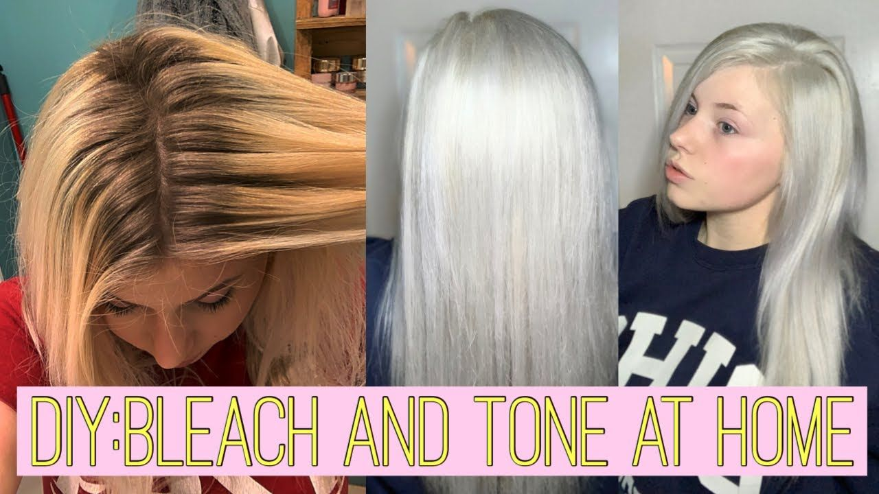 How to Safely Bleach Hair at Home? in 2020 Bleached hair