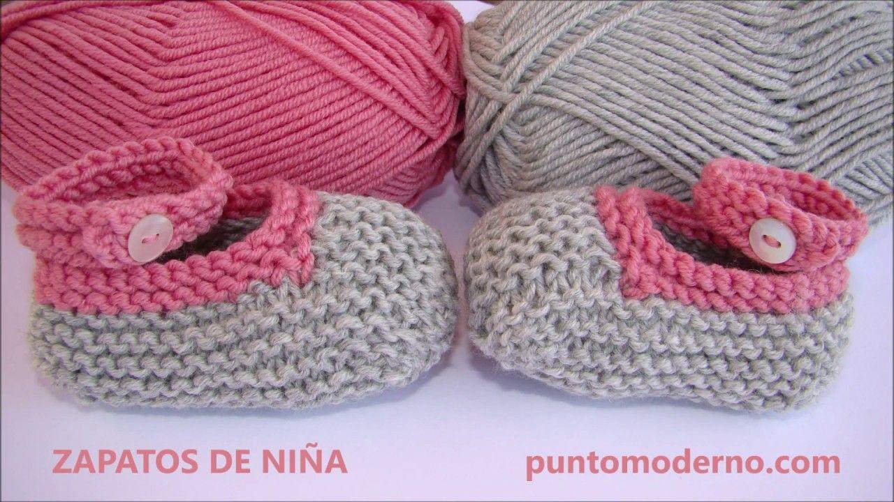Zapato De Niña A Dos Agujas Zapatos De Bebé De Ganchillo Gorro Bebe Dos Agujas Ropa Para Bebé De Ganchillo