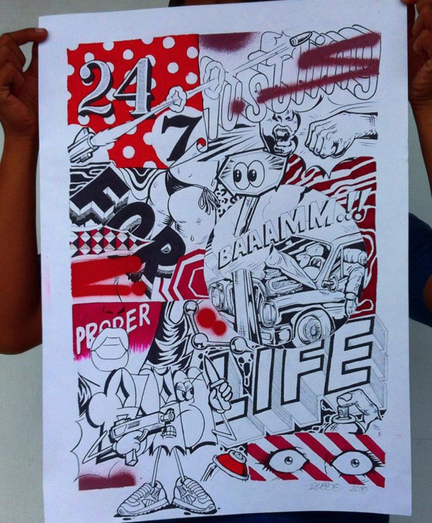 Poster design drawing - Sketch Graffiti Letter Character For Poster Design Sketches Graffiti Lettering Character