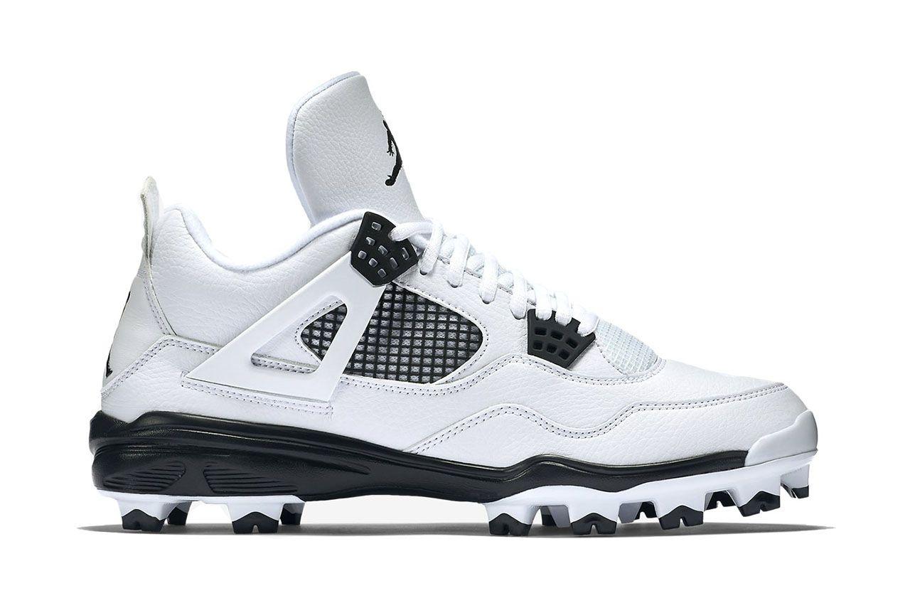 Air Jordan Iv Retro Mcs Baseball Cleats Air Jordans Jordan Iv Sneakers Box