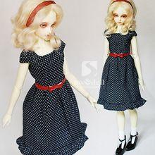 Bjd roupas de bebê dod. Como. Dz. Sd 1/3 boneca BJD uma peças vestido(China (Mainland))