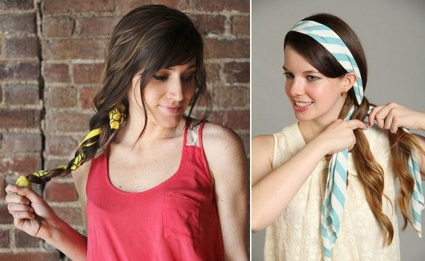 How To Tie A Scarf In Your Hair Hair Scarf Tutorial Scarf Hairstyles Hair Scarf Styles