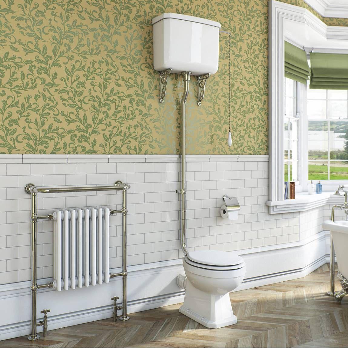 Regency High Level Toilet Inc Luxury White Mdf Seat Now 329 00 Toilet Bathroom Low Level Toilet