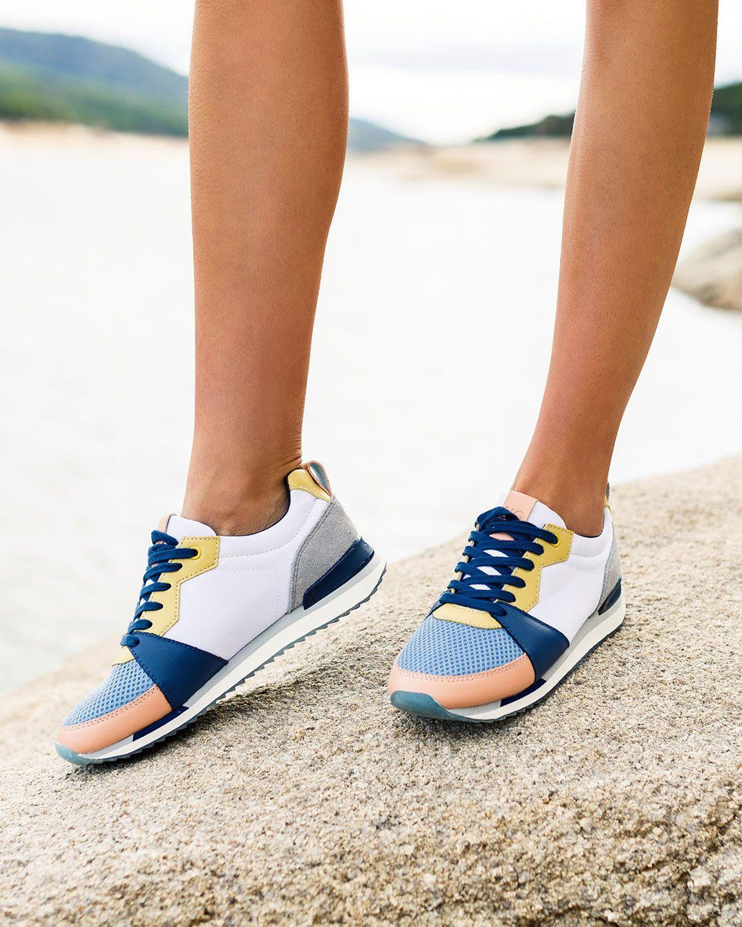 Estilo de la vendimia 2017 Hombre Zapatos Multicolor Asics