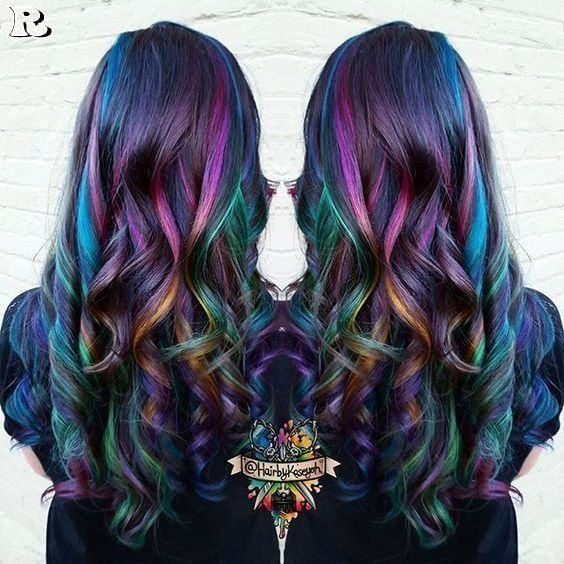 Top 40 Opal Oil Slick Hair Color 画像あり 明るいヘアカラー
