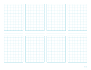Free Graph Paper Sketch Sheet from Konigi. Great base for making your own journal cards.
