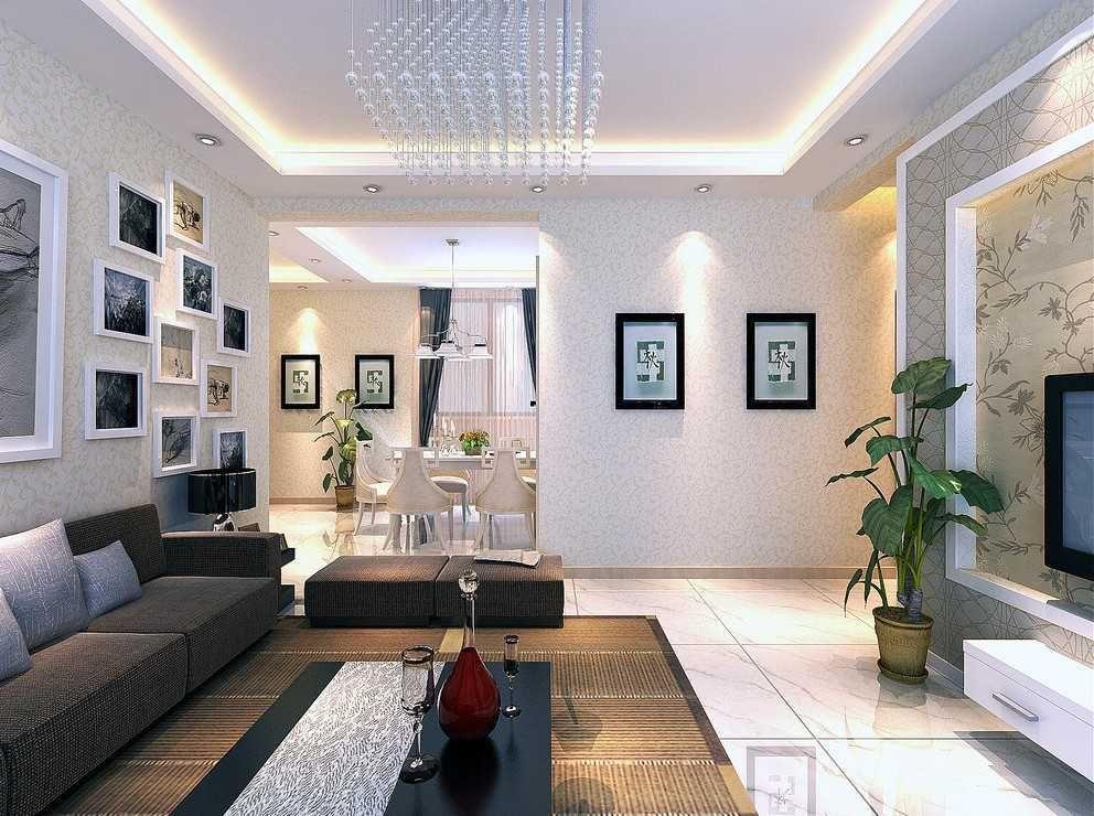 Desain Ruang Tamu Sederhana Yang Nampak Mewah