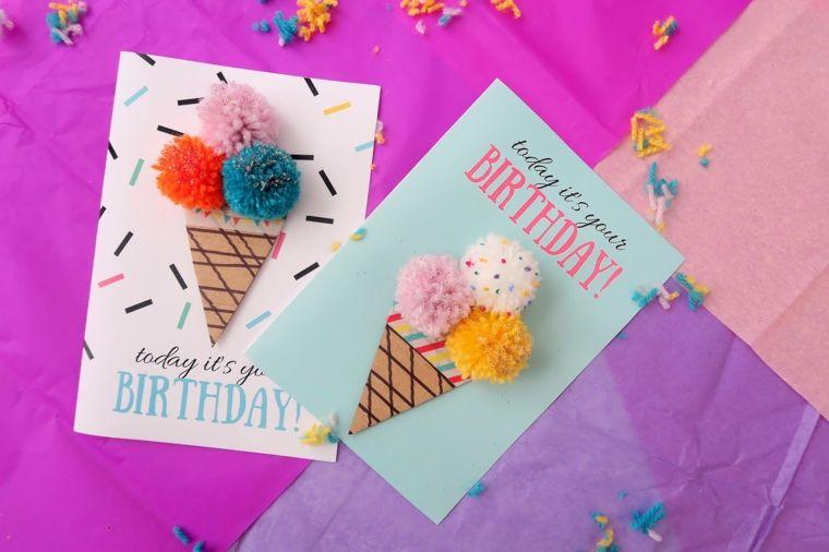 Tarjetas de cumpleaños diy - ideas creativas y diseños originales - tarjetas creativas