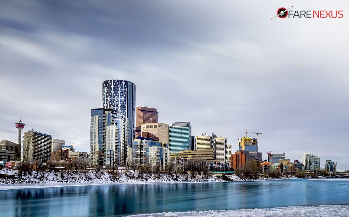 Calgary, a cosmopolitan Alberta city with numerous