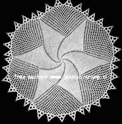 Plate Doily No 2510 Free Vintage Crochet Doilies Patterns Crochet