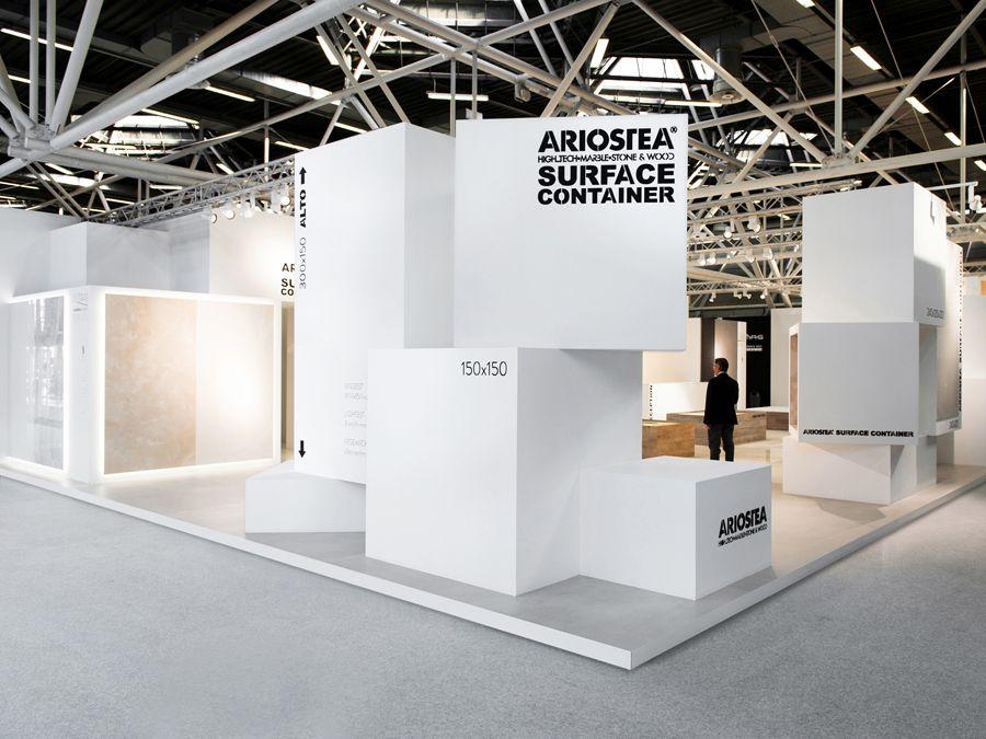 D Coform Exhibition : Stand cersaie ariostea  exhibition form