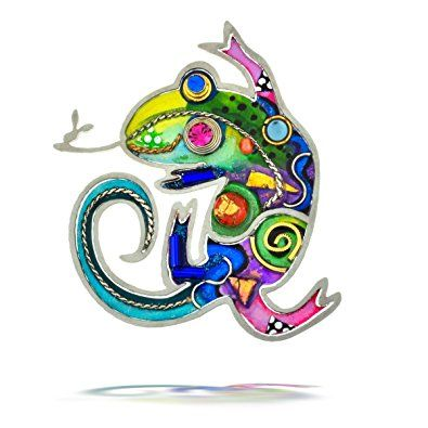 Lovely Seeka Quirky Chameleon Nature Pin From The Artazia Collection P0830 Review