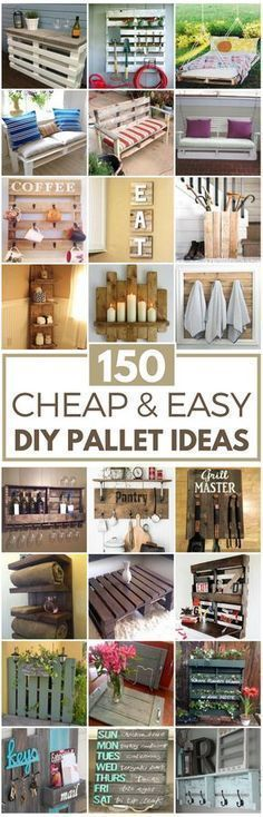 150 Cheap Easy Pallet Projects
