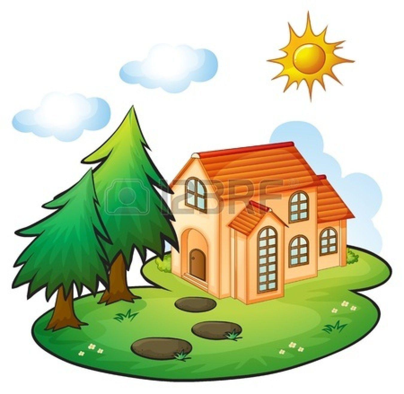 cute house clipart - Google Search | Cute house, Vintage ...