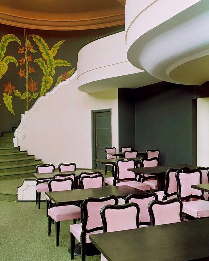 Crushing on pink and green combination. Hotel - casino Palacia Quitadinha Rio de Janeiro..    #interiordesign #interiors #interior #interiores #interiordesignideas #interiorinspiration #interiorinspo #instadecor #instadesign #interiordesign #interiordesigner #design #interiör #interior123 #colors #architecturaldigest #vogueliving #globetrotter #architecture #archilovers #vintage  #hoteldesign #hoteldecor #interiorstyling #visualarchitects #luxuryinteriors #classyinteriors
