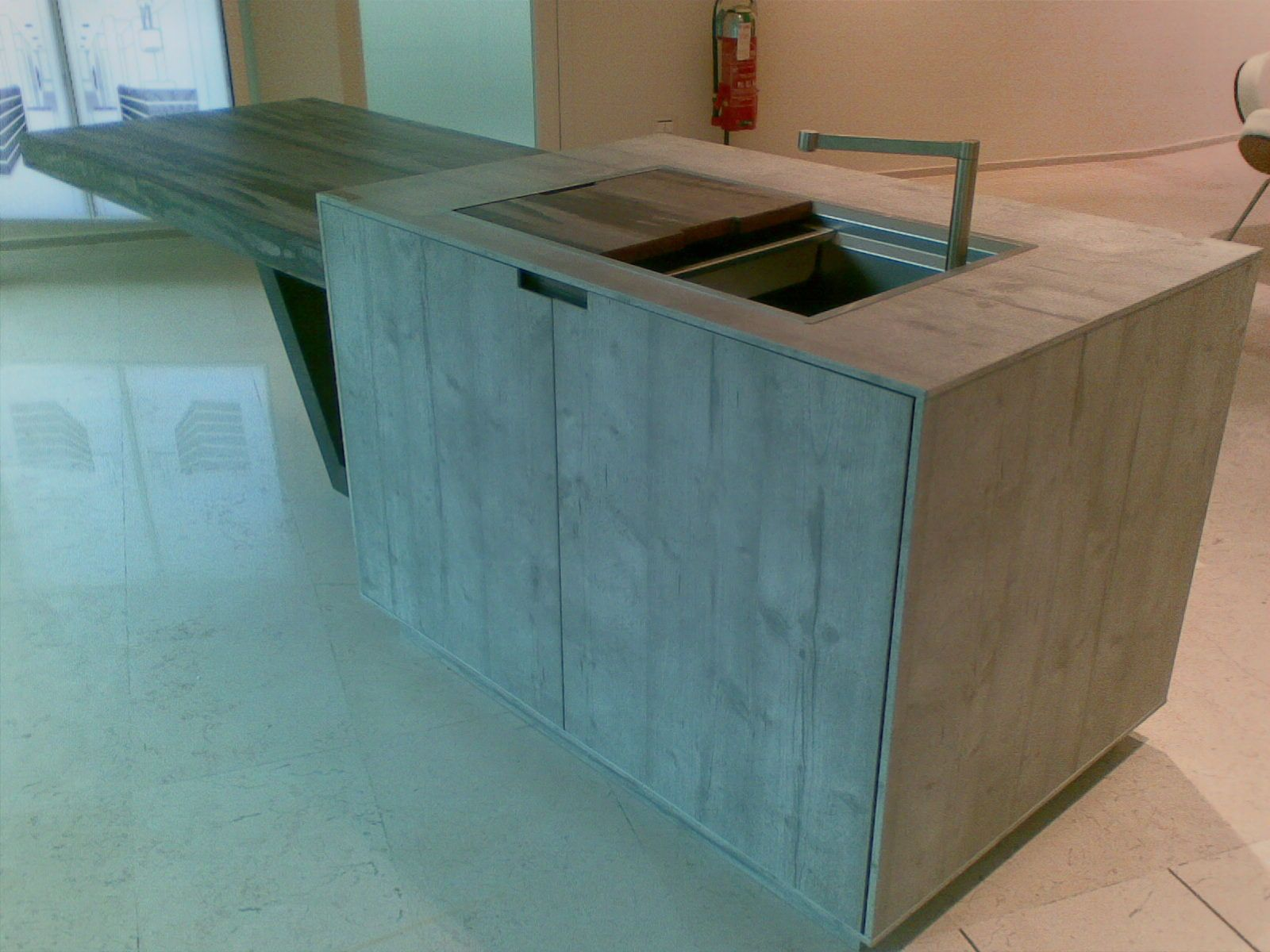 Kitchen top and sink made of Arpa HPL. | Materials | Pinterest ...