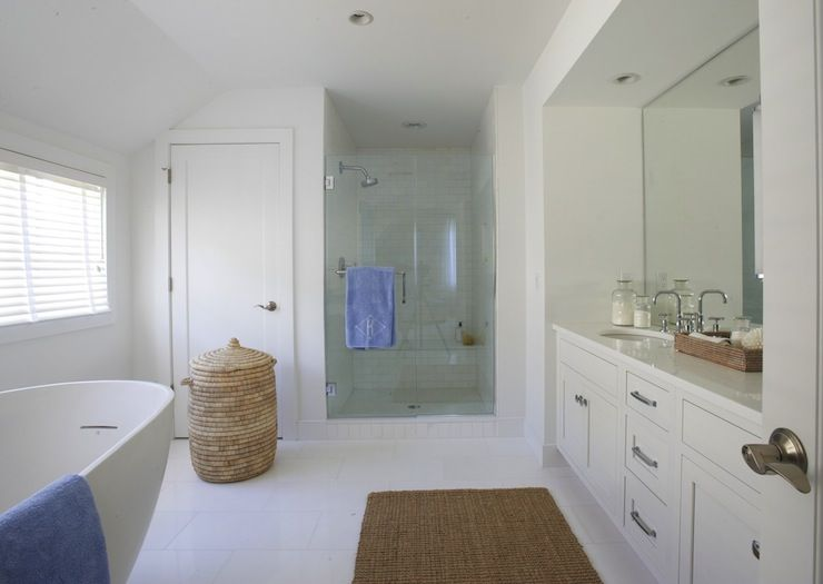 Coastal Bathroom Tile Ideas: Lynn Morgan Design