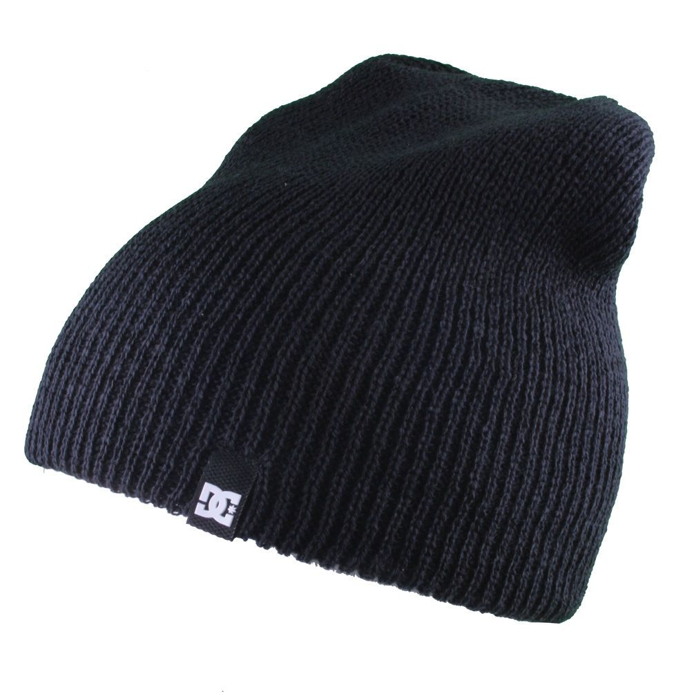 886a1909867 DC Shoes mens Clap Slouch Beanie Winter Hat Grey Black Red NWT ...