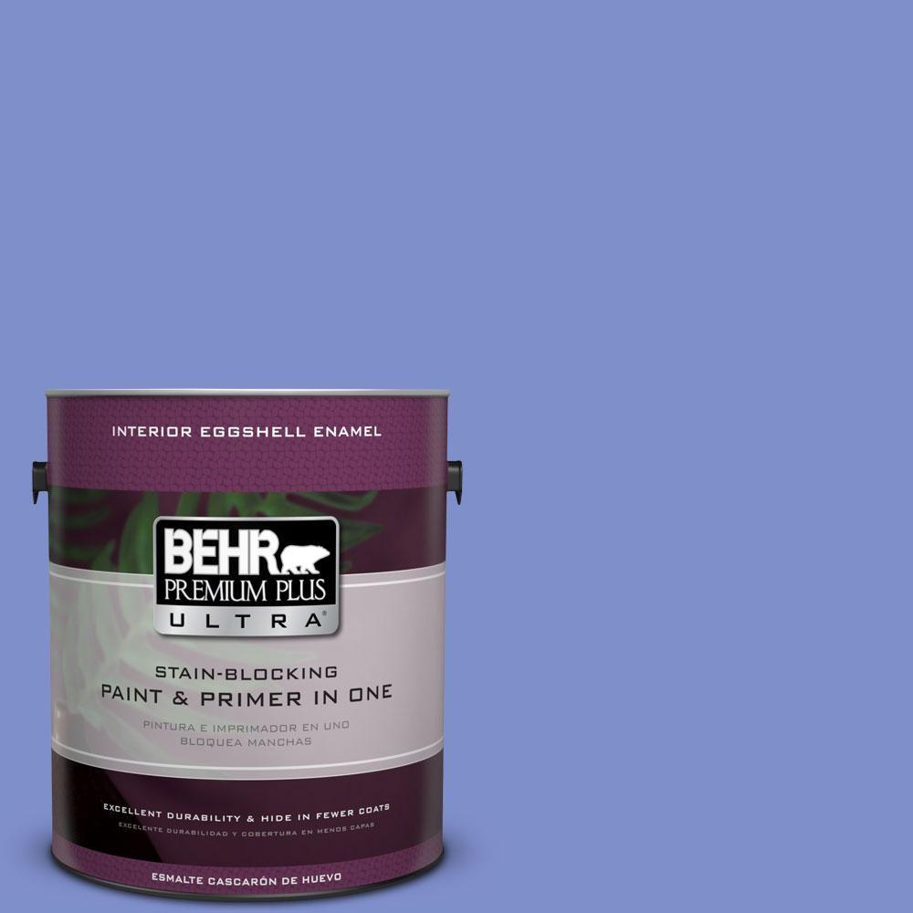 BEHR Premium Plus Ultra 1-gal. #P540-5 Pansy Garden Eggshell Enamel Interior Paint