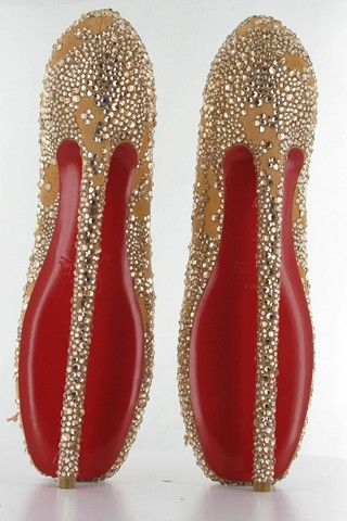 b08049cbb144 Christian Louboutin 8 inch pumps for the English National Ballet ...