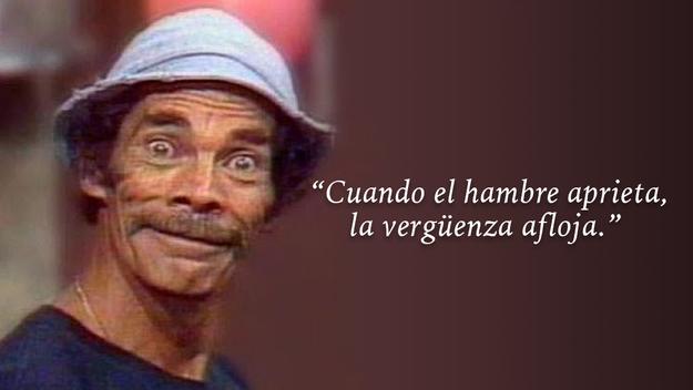 Galeria 21 De Las Frases Mas Celebres De La Serie El Chavo Del 8 Notinerd Humor Quotes Memes
