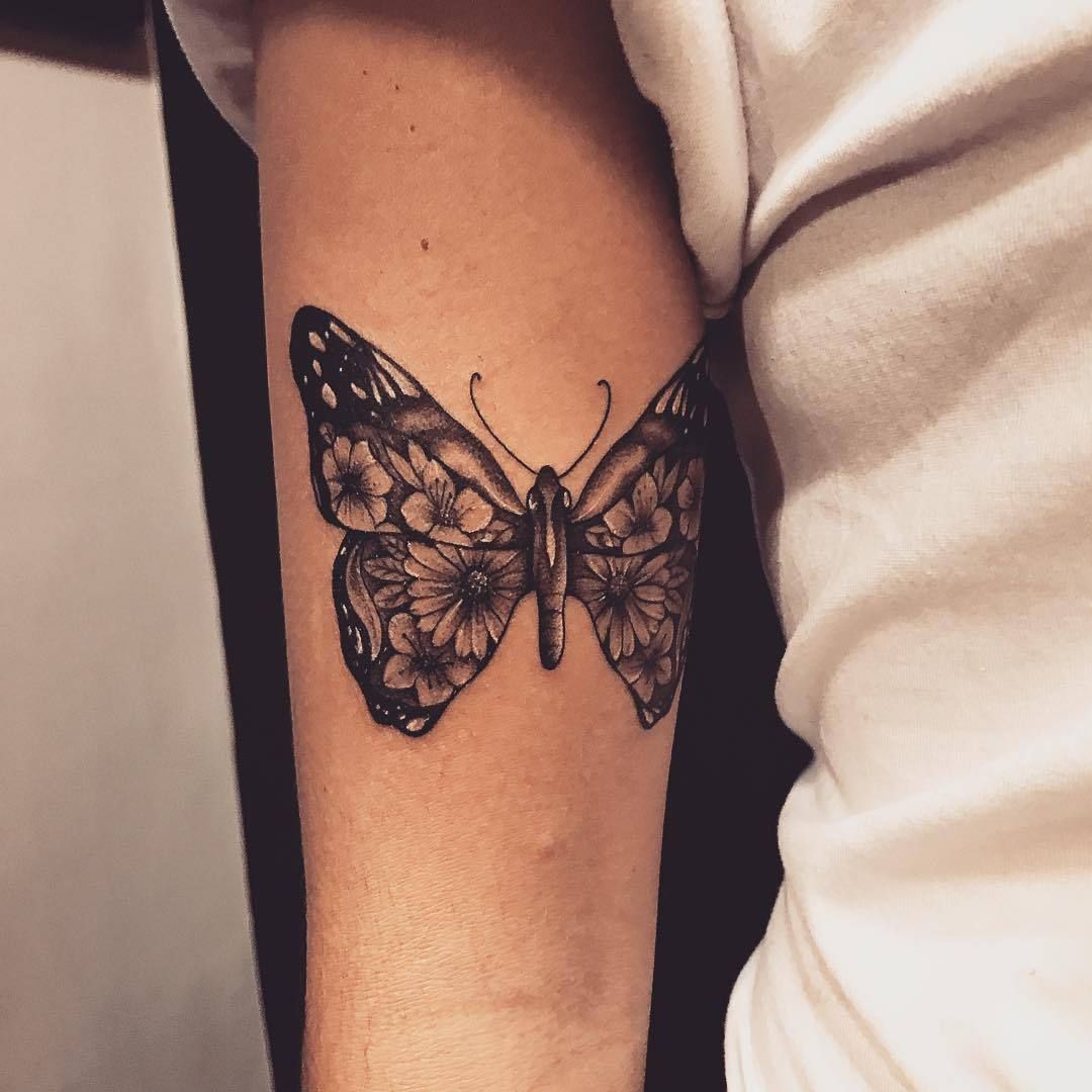 Photo of 50 Wonderful And Creative Butterfly Tattoo Designs