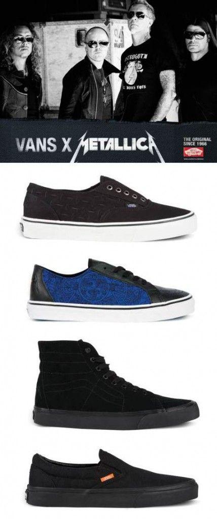 4295b7d2ed metallica vans Vans Shoes