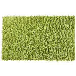 This Will Probably Look Hideous But It Looks Like Grass Hahaha Green Bathroom Rugs Bath Rug Bathroom Rugs