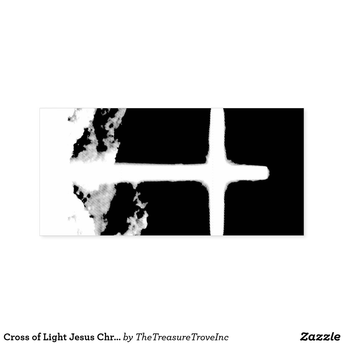 Cross Of Light Jesus Christ Customizable Christian Self Inking Stamp Zazzle Com Christian Messages God The Father The Cross Of Christ