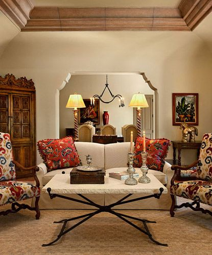 Ann James Interior Design | Spanish Residence