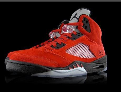 Nike Air Jordan 5 V 'Raging Bull' Defining Moments Package II Varsity Red /  White / Black