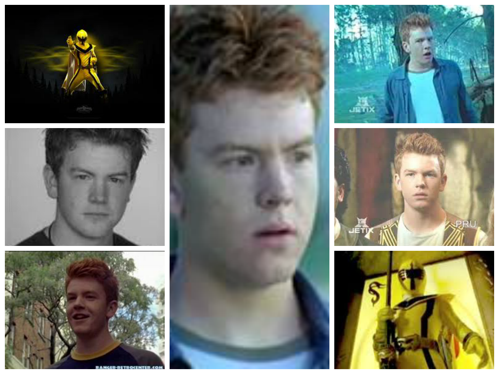 "Charlie ""Chip"" Thorn-(Yellow Mystic Ranger)"