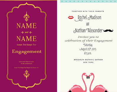 Engagement Invitation Card Apk Screenshot Engagement