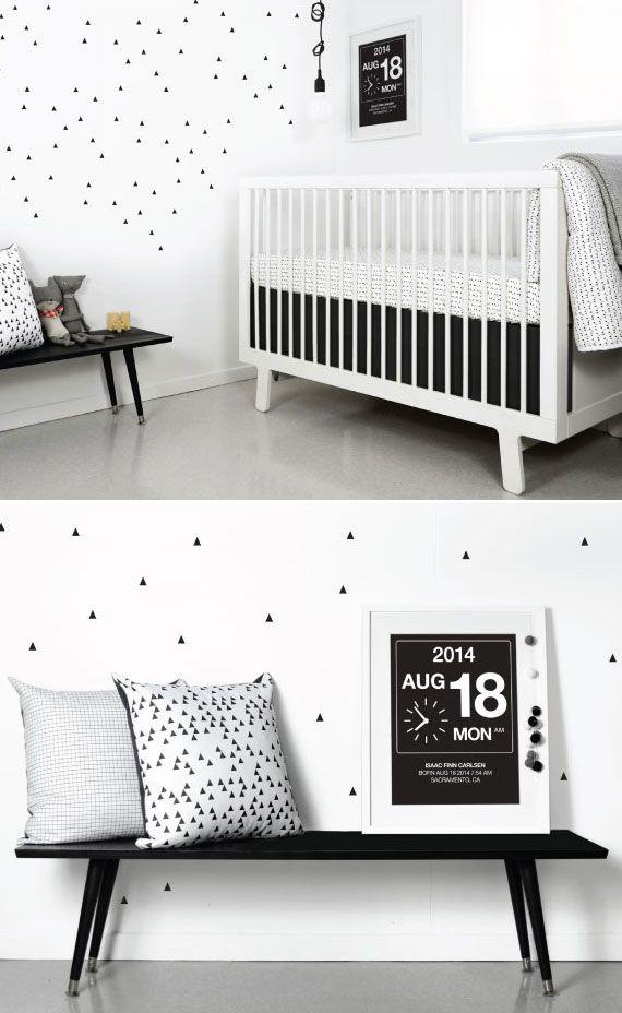 Black White Nursery