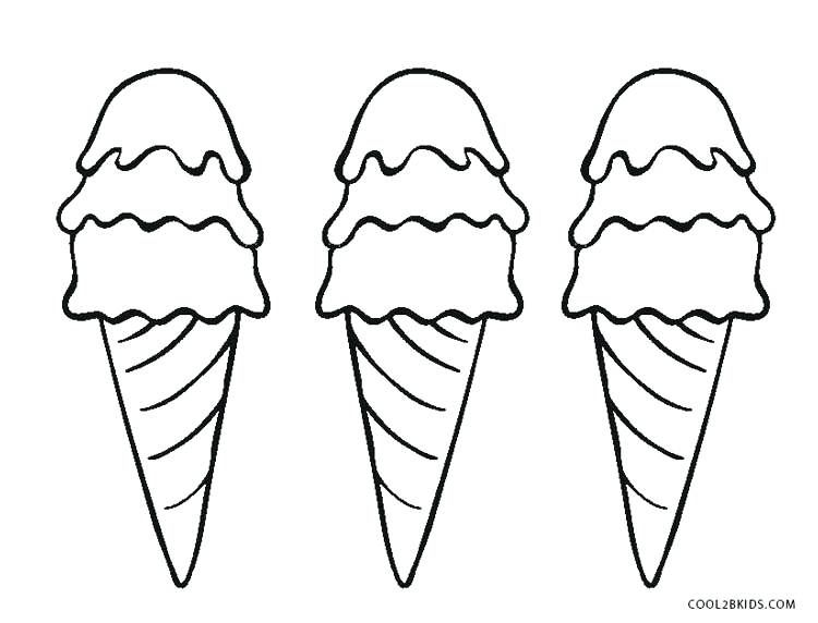 Ice Cream Cone Coloring Page U2013 Thrawn Info Ice Cream