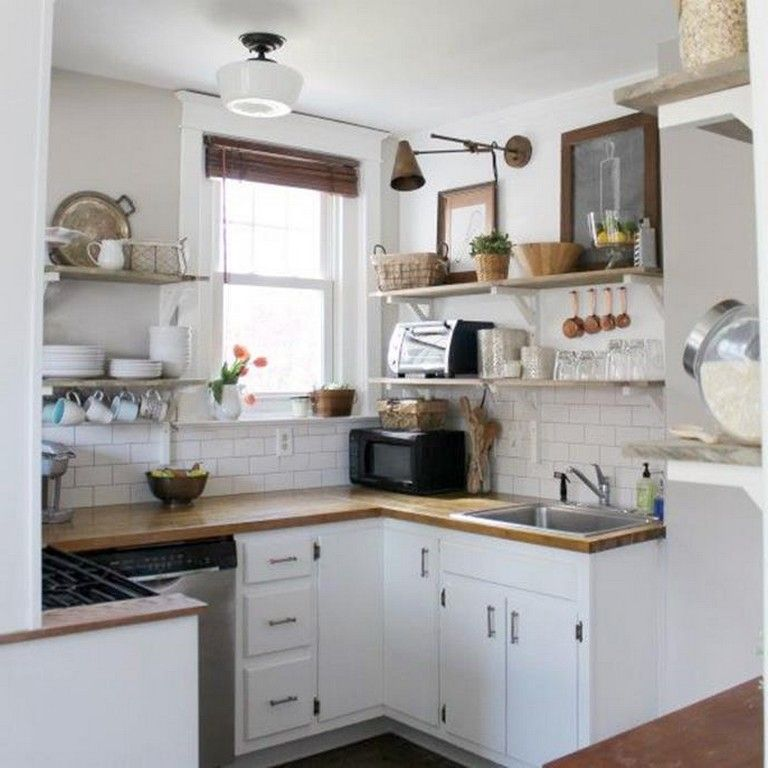 30+ Inspiring DIY Small Country Kitchens On a Budget Kitchen
