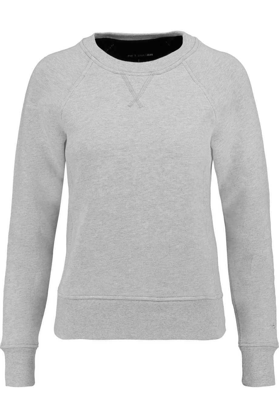 RAG & BONE Langford Cotton-Fleece Sweatshirt. #ragbone #cloth #sweatshirt