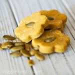 Peanut Butter Pumpkin Dog Treats #pumpkinseedsrecipebaked
