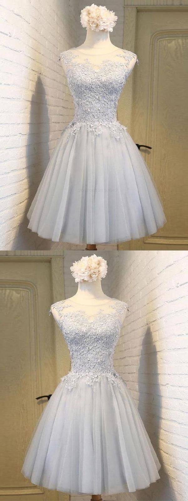 Glorious short aline modest homecomingprom dresses pinterest