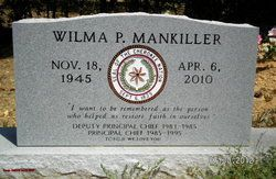 Photo of Chief Wilma Pearl Mankiller (1945-2010) – Find A…