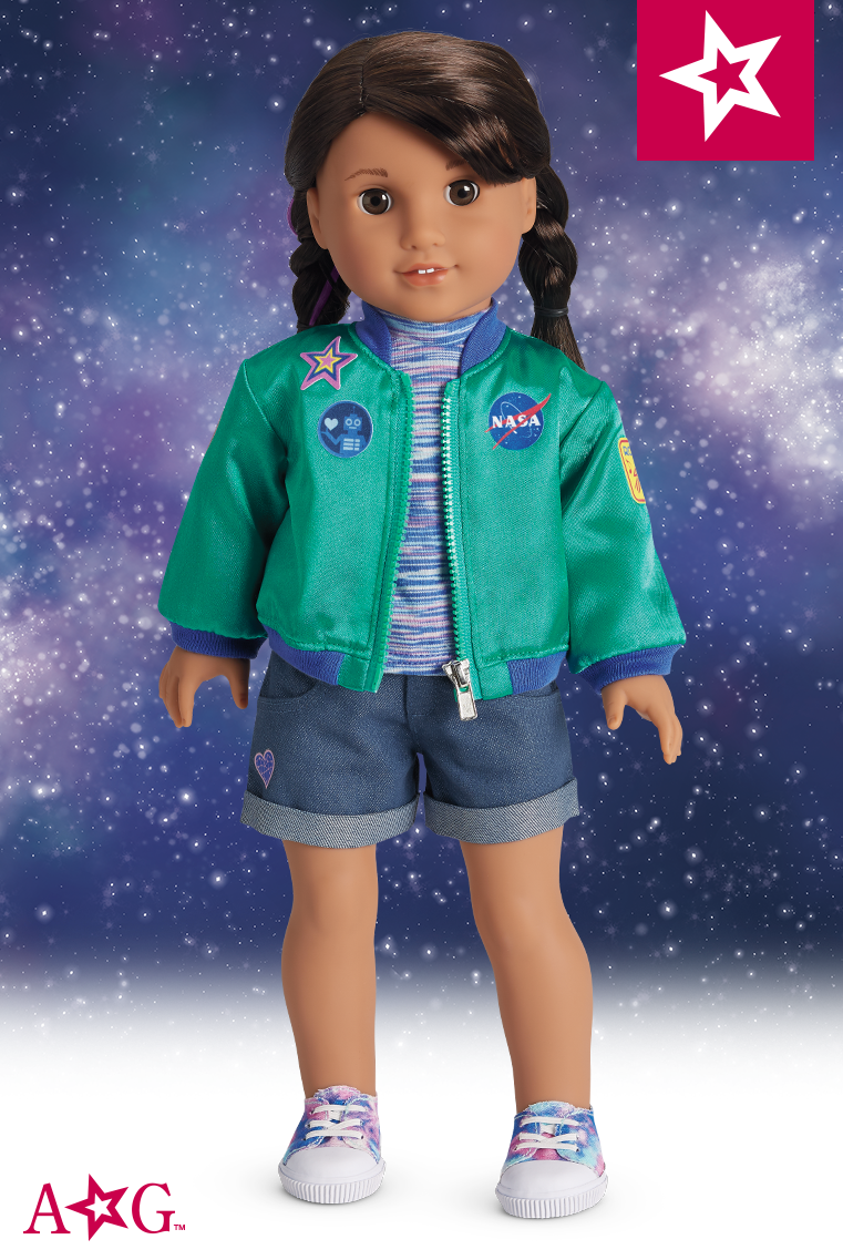 American Girl Doll Luciana Vega Meet Outfit Girl of the Year 2018-complete