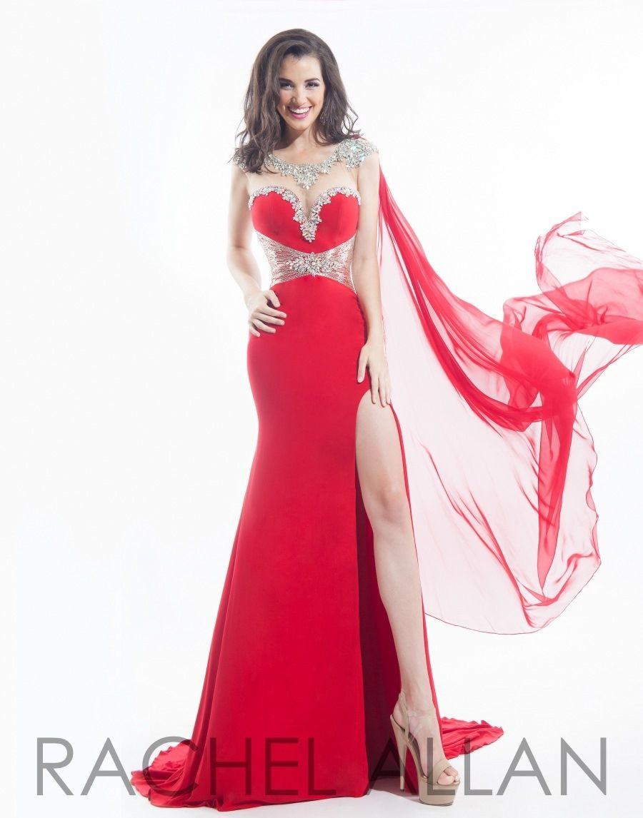 Prima Donna Pageant Dress 5769 Long Gown - Everything4pageants.com ...