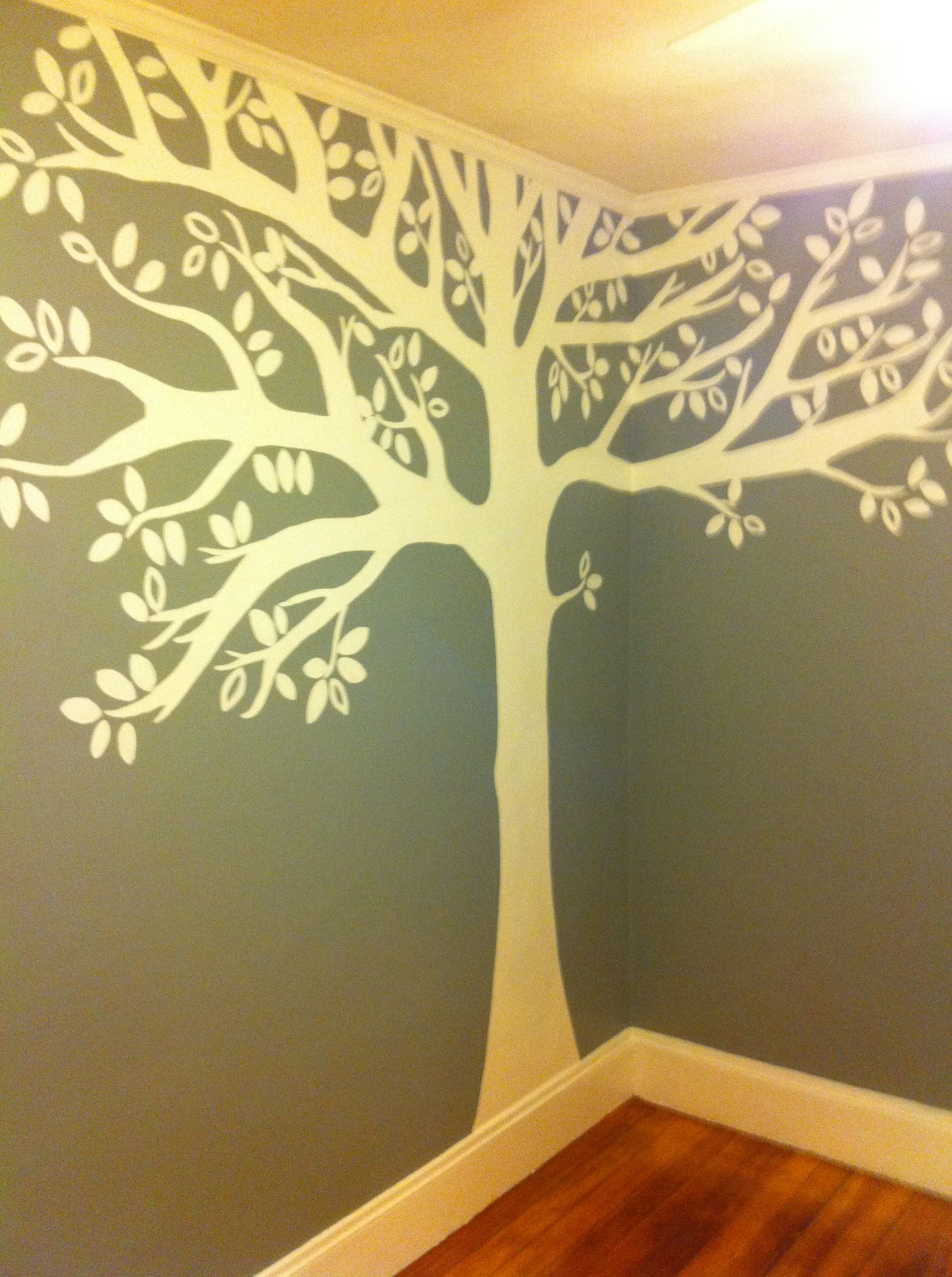 This is the mural my wonderful sis-in-law painted on Cole\'s wall ...