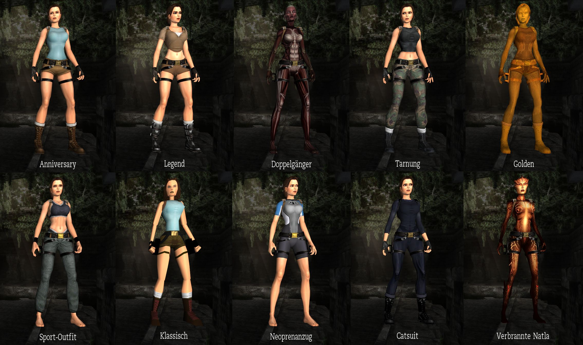 Tomb raider outfits pinterest
