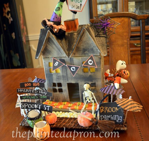 Creations, Haunted Halloween Mansion Haunted halloween, Mansion - hobby lobby halloween decorations