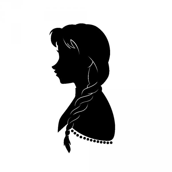 stickers la reine des neiges mila silhouettes cricut and stenciling