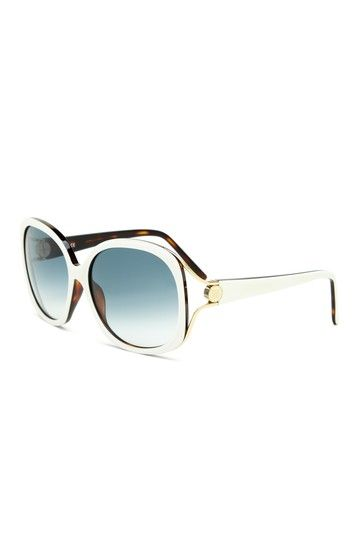 b3b601e05b3c3 Givenchy Women s White Plastic Sunglasses   Sunglasses oculos ...