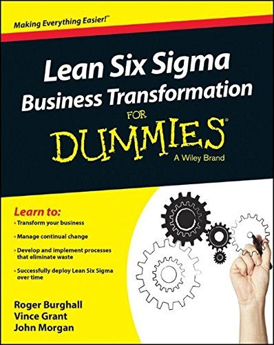 Six Sigma For Dummies Pdf