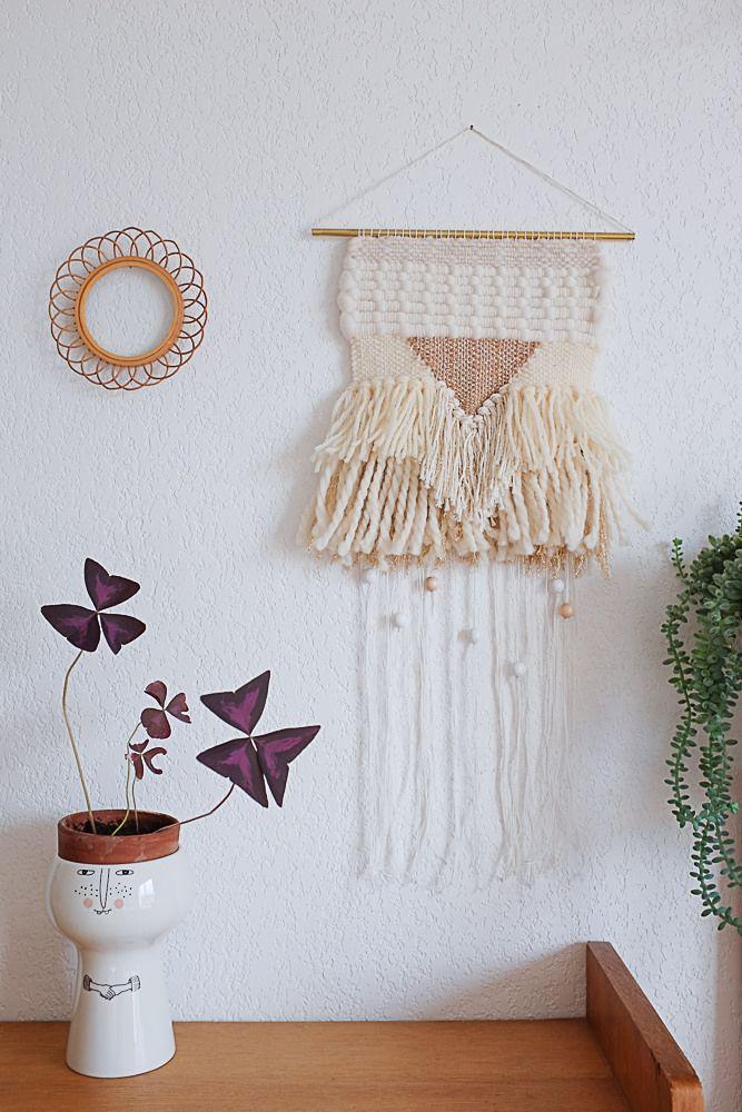 mes tissages chez les fleurs paris un tapestries and crochet. Black Bedroom Furniture Sets. Home Design Ideas