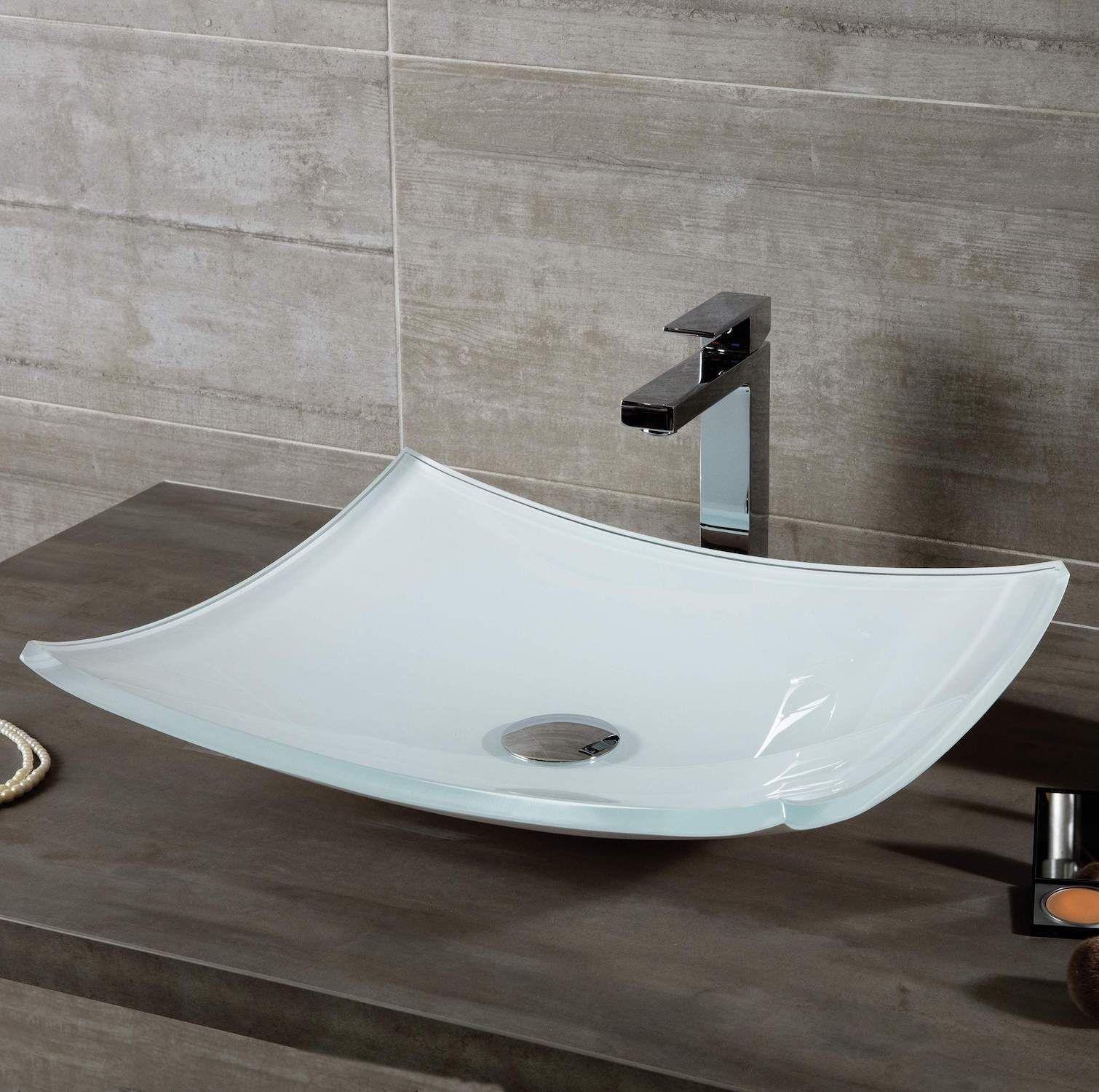 Vasque A Poser Verre Spirit En 2020 Vasque A Poser Vasque Salon Esthetique